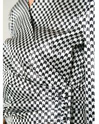 Isa Arfen - White Cropped Jacket - Lyst