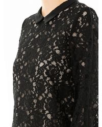 Sea - Black Pizval Lace Blouse - Lyst