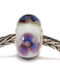 Trollbeads | Green Antique Flower Glass Charm Bead | Lyst
