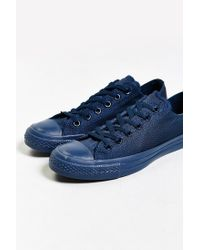 Converse - Blue Chuck Taylor All Star Mono Low-top Sneaker for Men - Lyst