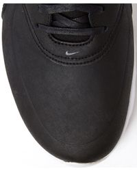 Nike - Black Air Max Thea Premium Leather Trainers - Lyst