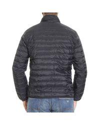 Armani Jeans | Black Down Jacket for Men | Lyst