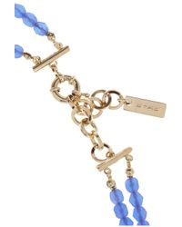 Etro | Blue + V&A Gold-Tone Agate Necklace | Lyst