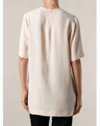 Stella McCartney - Natural 'jennifer' Top - Lyst