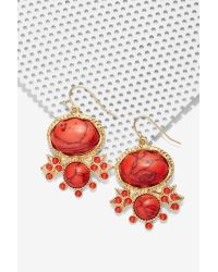 Nasty Gal | Red Prina Earrings | Lyst