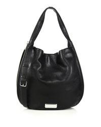 Marc By Marc Jacobs - Black New Q Zipper Hillier Hobo Bag - Lyst