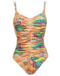 Maryan Mehlhorn - Multicolor Fiesta Underwired Swimsuit - Lyst