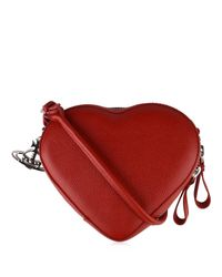 Vivienne Westwood - Red Johanna Heart Cross Body Bag - Lyst
