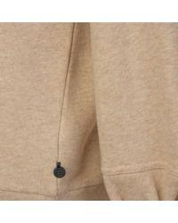Maison Scotch - Natural Toggle Sweatshirt - Lyst