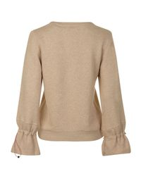 Maison Scotch - Natural Toggle Sweatshirt - Lyst