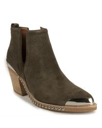 Jeffrey Campbell | Green Embellished Bootie | Lyst