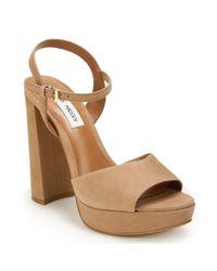 Steve Madden | Brown Platform Sandal | Lyst