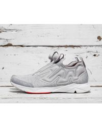 Reebok | White Pump Plus Supreme Hd | Lyst