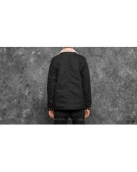 Carhartt WIP Fairmount Coat Black Rigid for men