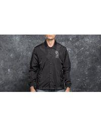 Footshop | Polar Skate Co. College Jacket Black for Men | Lyst
