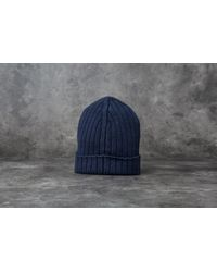 Footshop | Blue A.p.c. Bonnet Forest Hat Dark Navy for Men | Lyst