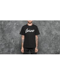 0179eb2ee16b Lyst - Carhartt Wip Shortsleeve Stray T-shirt Black/ Wax in Black ...