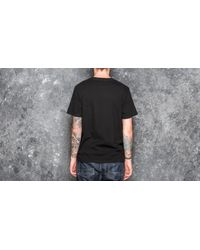 Footshop - Wood Wood Aa Two Tones T-shirt Black for Men - Lyst