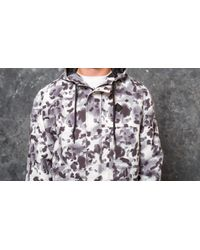 Footshop Original Peoples Mind Black Camo Parka Aqua Camo Black for men
