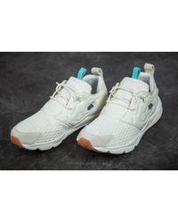 Reebok - Furylite Loom Classic White/ Blue/ Chalk-gum - Lyst