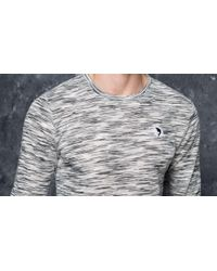 Footshop - Pink Dolphin Marble Weave Lightweight Sweater Gray for Men - Lyst