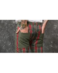 Footshop My Dear Clothing By Nik Pants Green for men