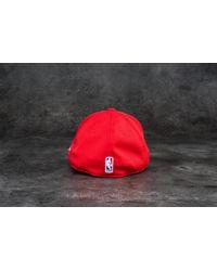 KTZ | Red 39thirty Logo Pack Chicago Bulls Cap Scarlet for Men | Lyst