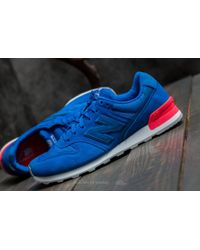 New Balance - 996 Blue/ Pink for Men - Lyst