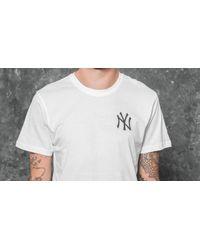 KTZ - East Coast Graphic New York Yankees Tee White for Men - Lyst
