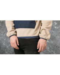 Footshop Blue Polar Gonzales Fleece Jacket Sand/ Navy for men