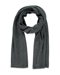 Forever 21 - Gray Oblong Knit Scarf - Lyst