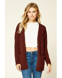 Forever 21 | Multicolor Contemporary V-neck Cardigan | Lyst