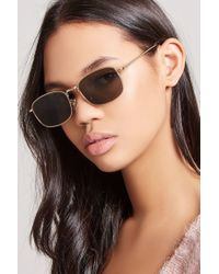 Forever 21 - Multicolor Rectangular Sunglasses - Lyst