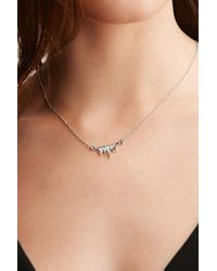 Forever 21 - Metallic Cc Skye The Lash Necklace - Lyst