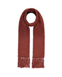 Forever 21 - Brown Oblong Fringed Scarf - Lyst