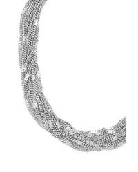 Forever 21 | Black Sunburst Statement Necklace | Lyst