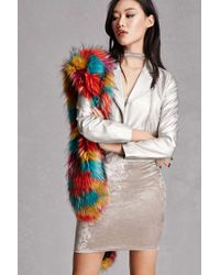 a70984af0824 Forever 21. Women s Alex And Max Faux Fur Stole