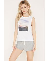 Forever 21 | Gray Make A Difference Pyjamas Set | Lyst