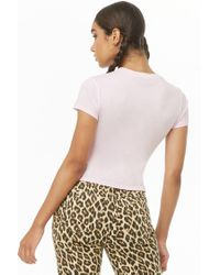 Forever 21 - Pink Doll Graphic Tee - Lyst