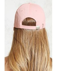 Forever 21 - Pink Duh Sequined Baseball Cap - Lyst