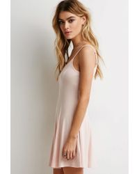 Forever 21 - Pink A-line Cami Dress - Lyst