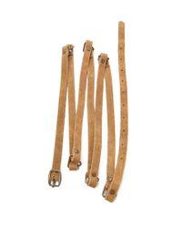 Forever 21 - Brown Genuine Suede Wrap Belt - Lyst