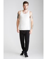 Forever 21 | Natural Flecked Knit Tank for Men | Lyst
