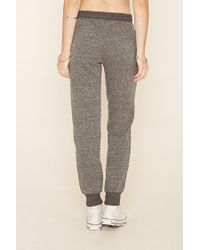 Forever 21 - Gray Classic Heathered Joggers - Lyst