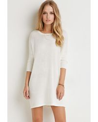 Forever 21 | Natural Dolman-sleeved Dress | Lyst