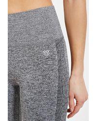 Forever 21 | Gray Heathered Athletic Capri Leggings | Lyst