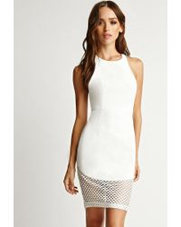 Forever 21 - White Rise Of Dawn One And Only Halter Dress - Lyst