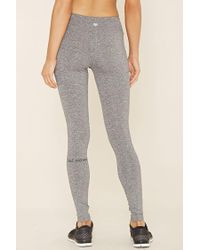 Forever 21 - Gray Active Moving Graphic Leggings - Lyst