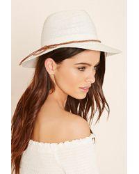 Forever 21 | White Brooklyn Hat Co. Straw Fedora | Lyst