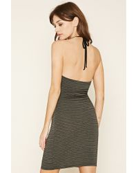 Forever 21 - Multicolor Striped Cami Dress - Lyst